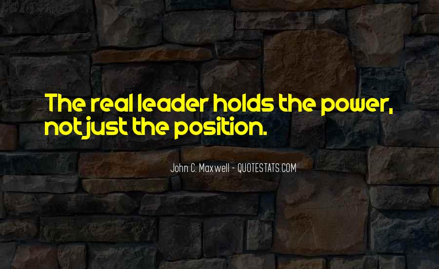 Quotes On Leadership John Maxwell #498261