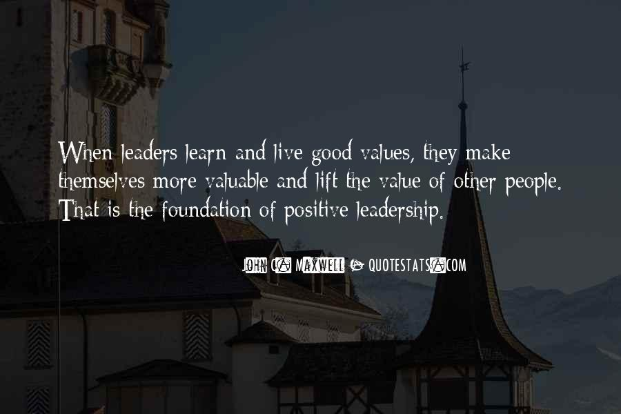 Quotes On Leadership John Maxwell #504536