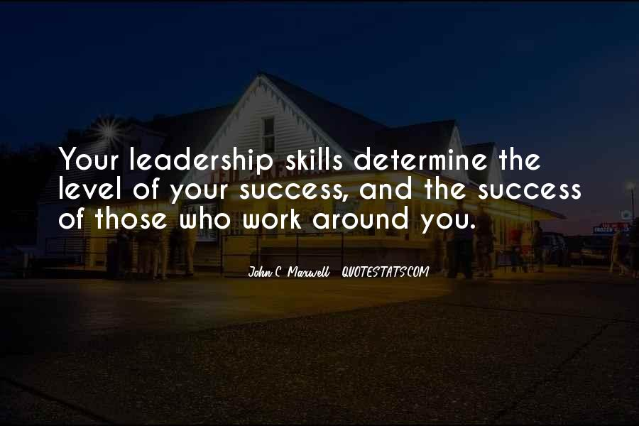 Quotes On Leadership John Maxwell #570104