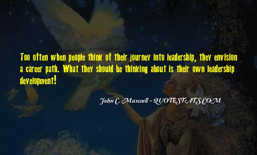 Quotes On Leadership John Maxwell #576685