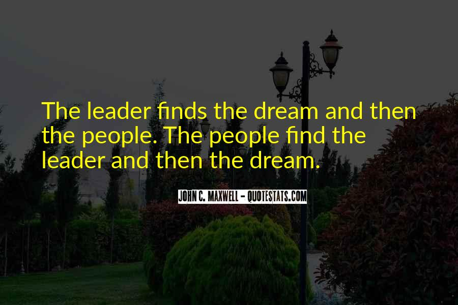 Quotes On Leadership John Maxwell #648643