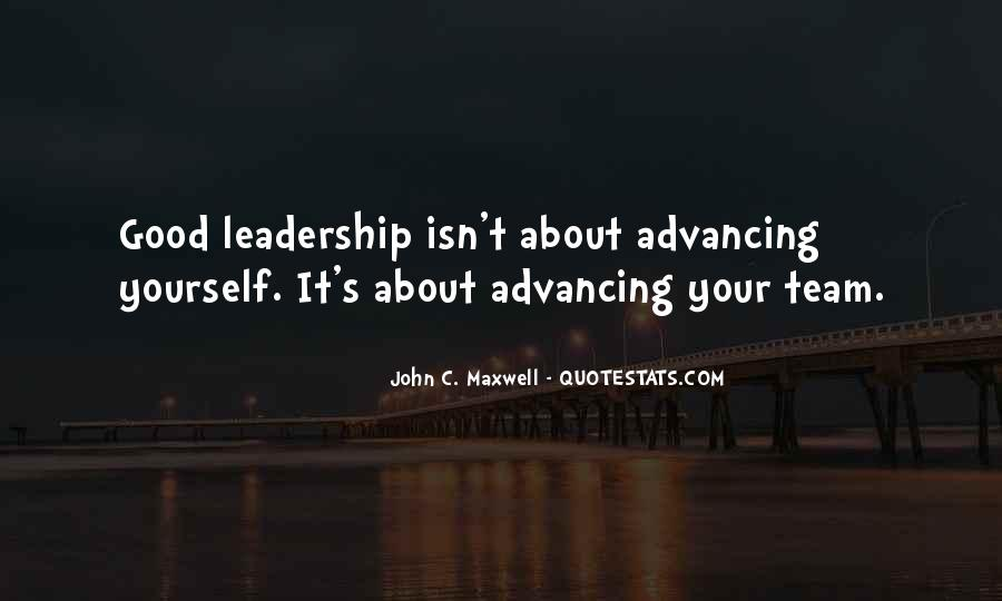 Quotes On Leadership John Maxwell #686074
