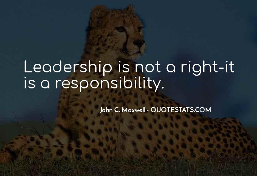 Quotes On Leadership John Maxwell #696020