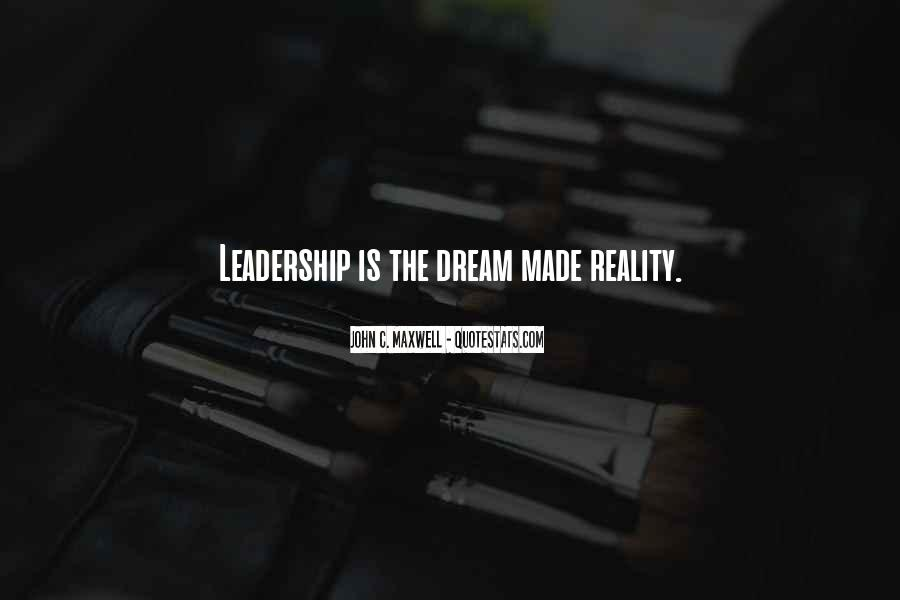 Quotes On Leadership John Maxwell #701762