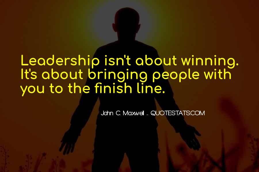 Quotes On Leadership John Maxwell #725173