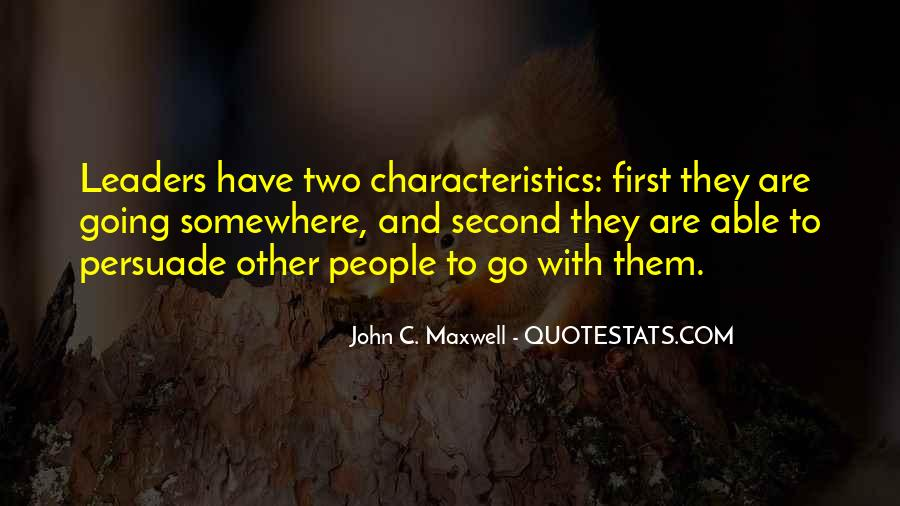 Quotes On Leadership John Maxwell #827093