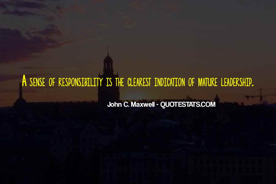 Quotes On Leadership John Maxwell #830907