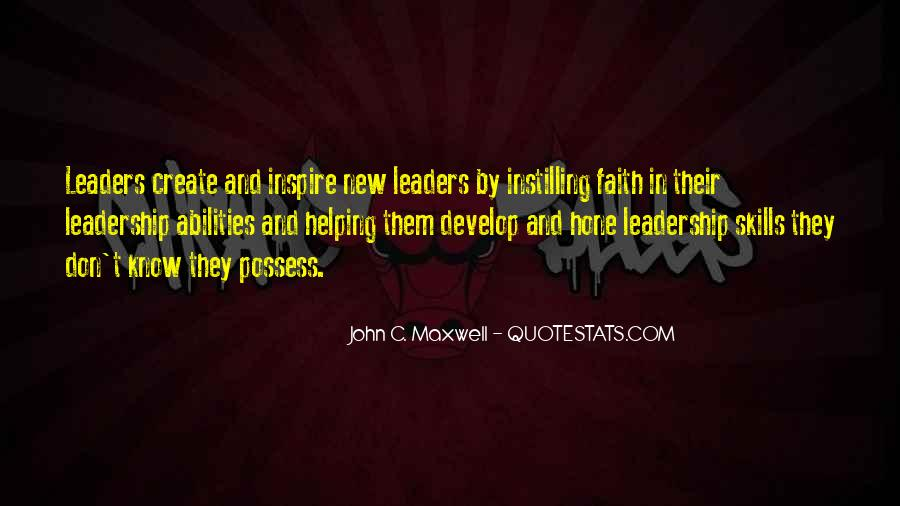 Quotes On Leadership John Maxwell #853213