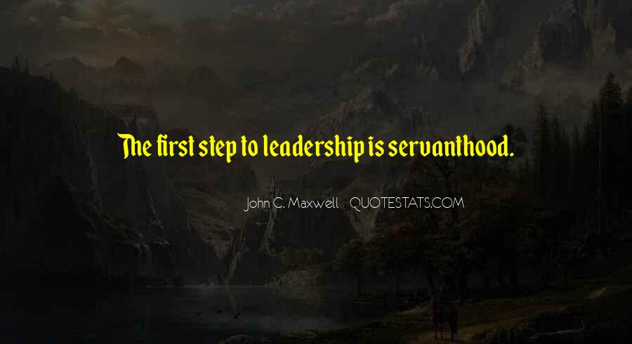 Quotes On Leadership John Maxwell #887567