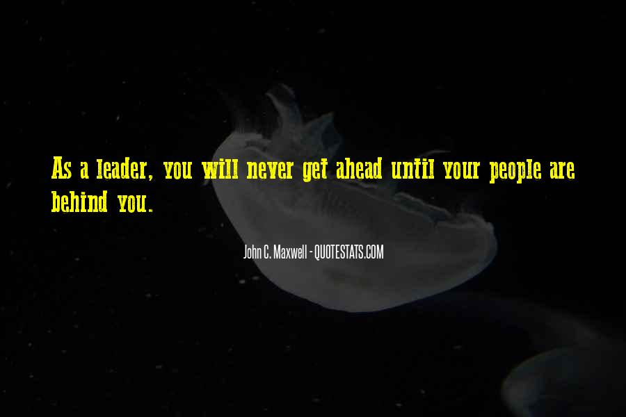 Quotes On Leadership John Maxwell #900449