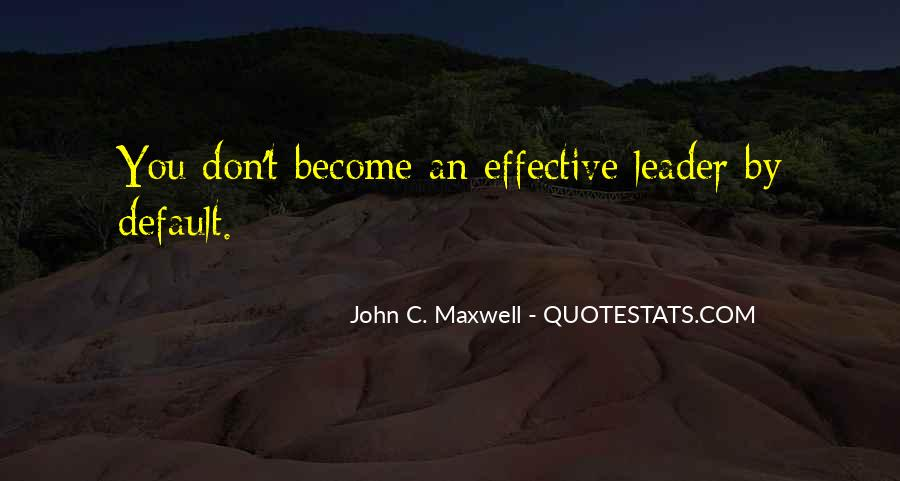 Quotes On Leadership John Maxwell #972075