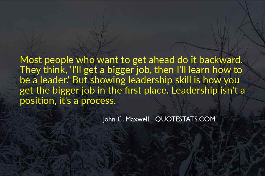 Quotes On Leadership John Maxwell #984781