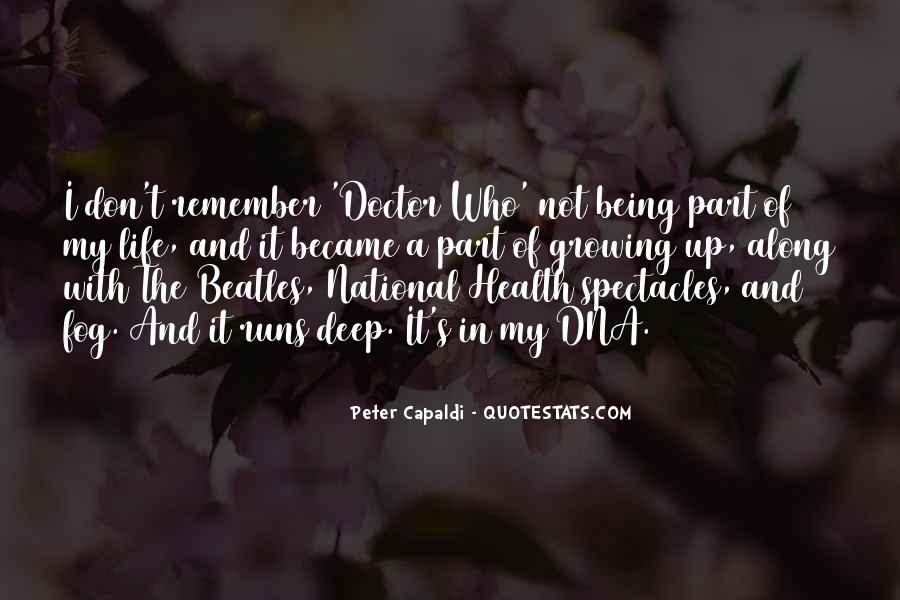 Quotes On Life Of A Doctor #1439758