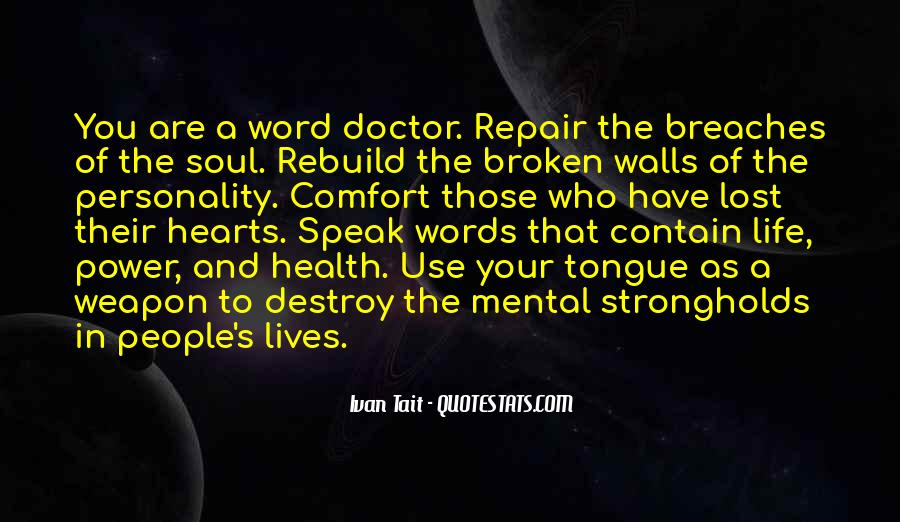 Quotes On Life Of A Doctor #1705693