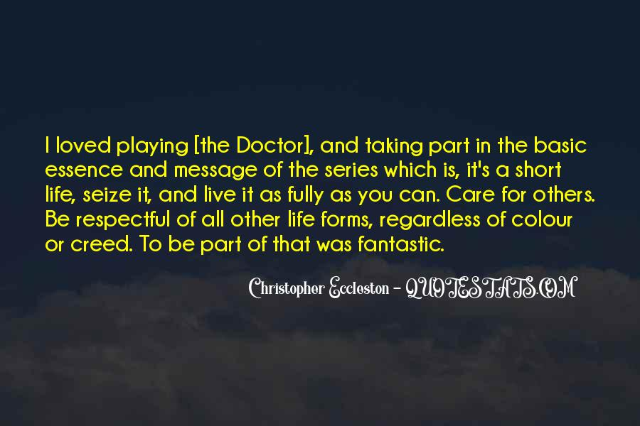 Quotes On Life Of A Doctor #960533
