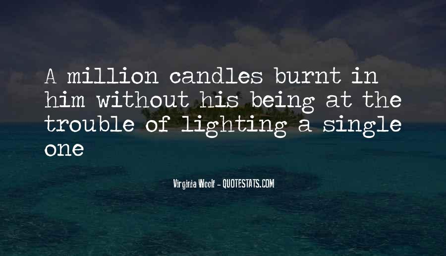 Quotes On Lighting Candles #1006569