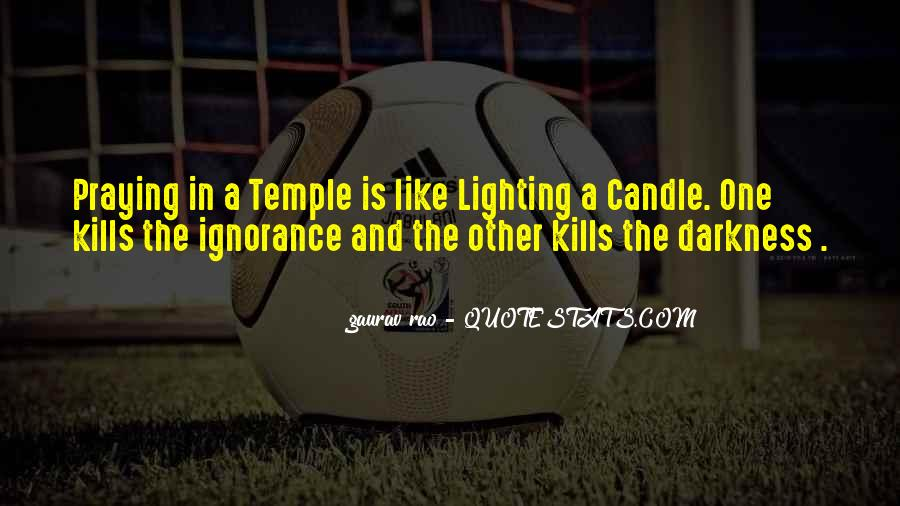 Quotes On Lighting Candles #22862