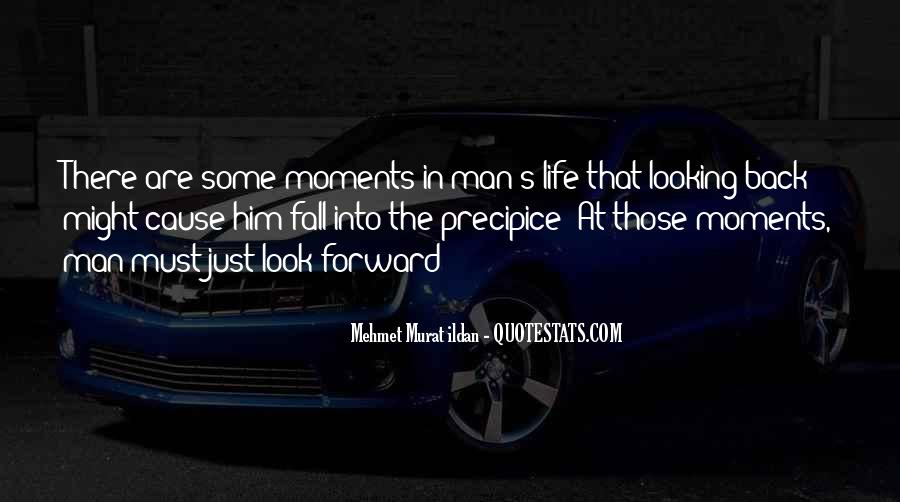 Quotes On Looking Back To Look Forward #1483063