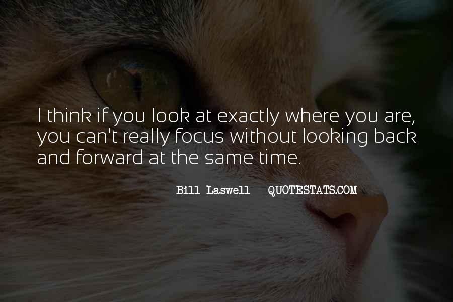 Quotes On Looking Back To Look Forward #567161
