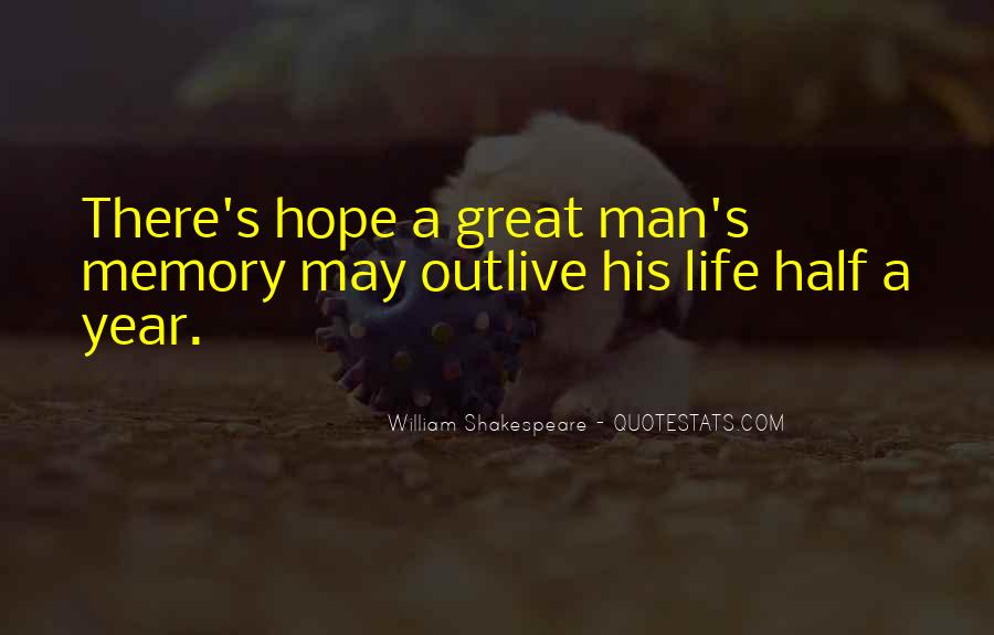 Quotes On Memories By Shakespeare #1232650