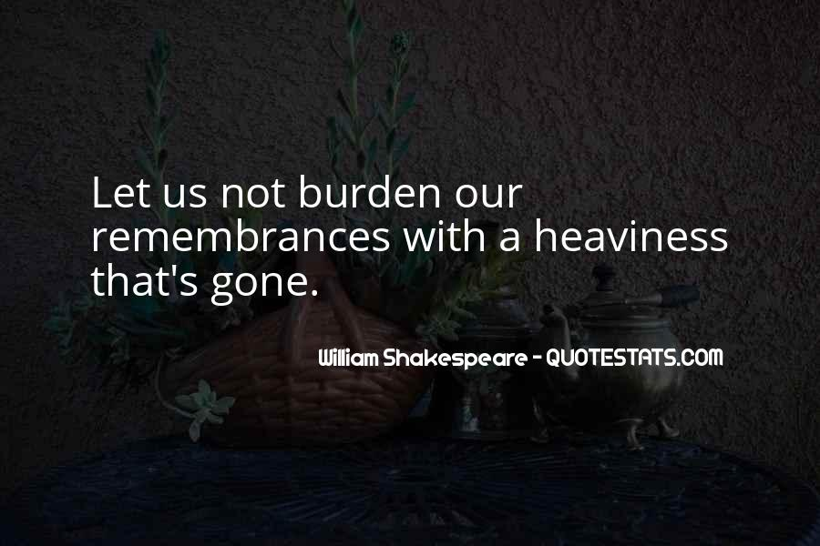 Quotes On Memories By Shakespeare #1282951