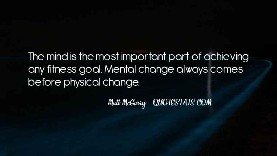 Quotes On Mental And Physical Fitness #1158646