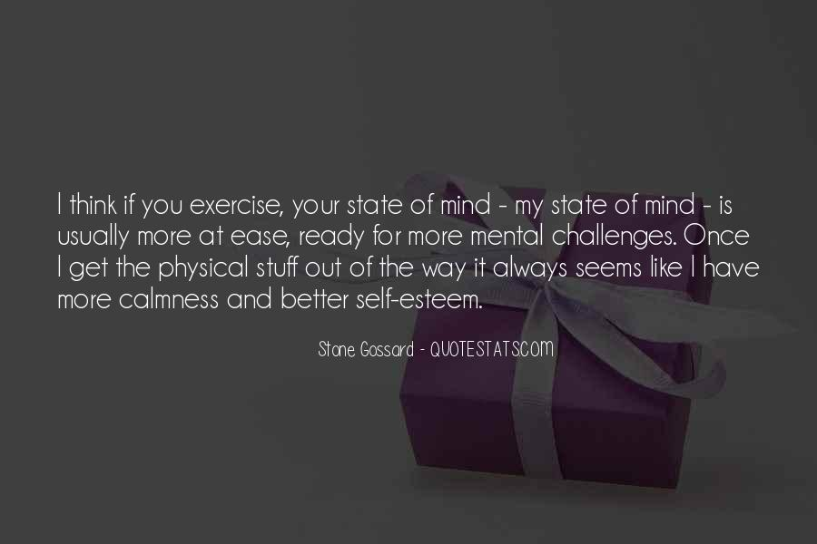 Quotes On Mental And Physical Fitness #779058