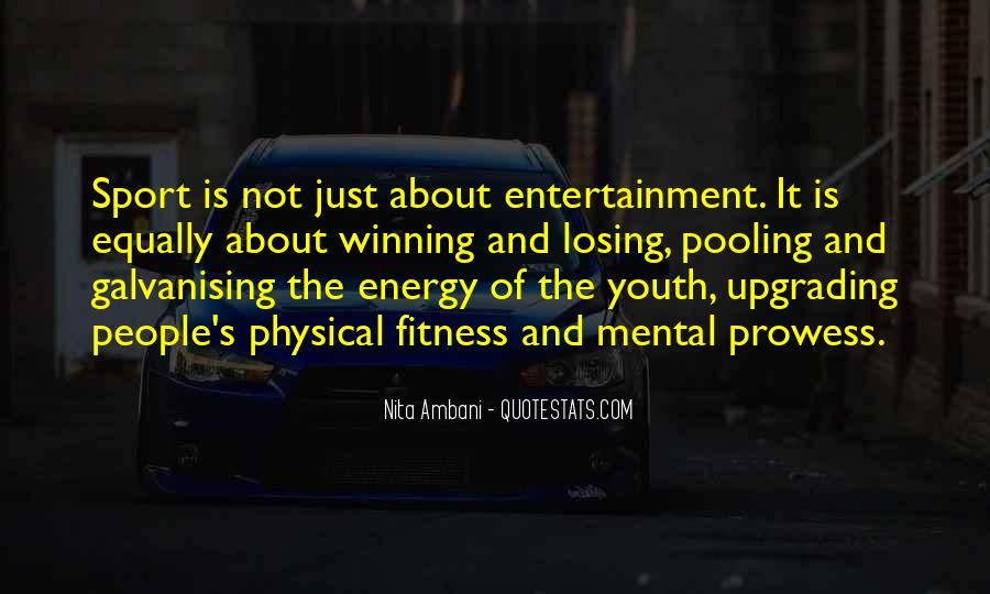 Quotes On Mental And Physical Fitness #972383