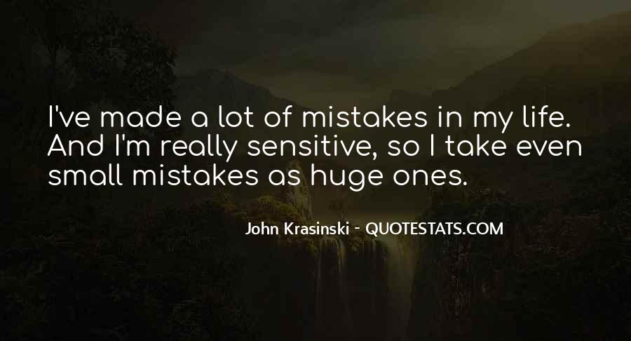 Quotes On Mistakes Of My Life #1169469