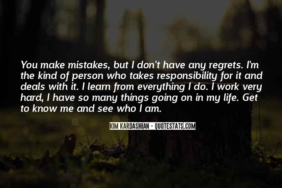 Quotes On Mistakes Of My Life #1207459