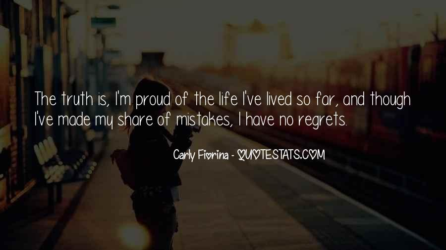 Quotes On Mistakes Of My Life #1398347