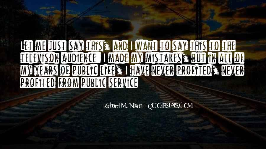 Quotes On Mistakes Of My Life #272493