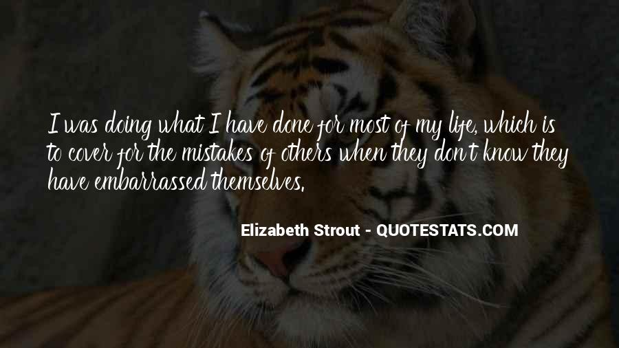 Quotes On Mistakes Of My Life #422761