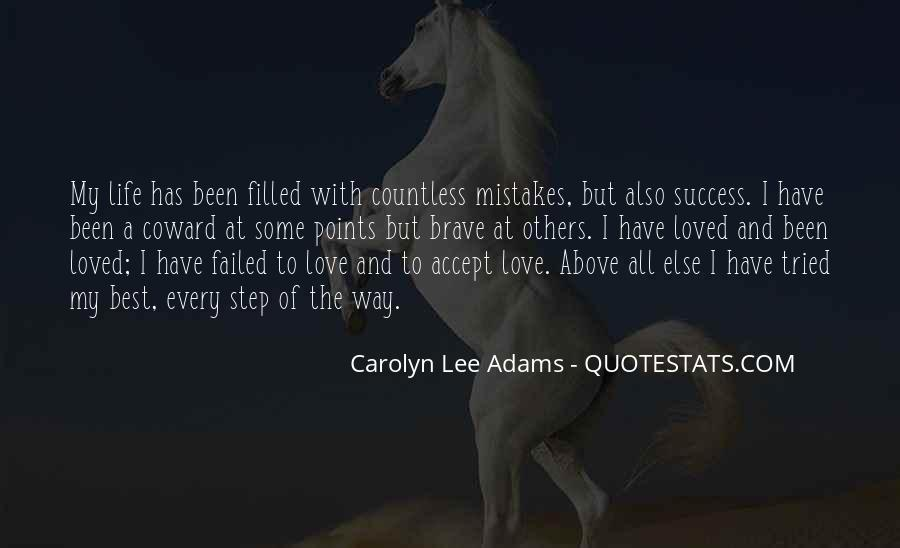 Quotes On Mistakes Of My Life #534133