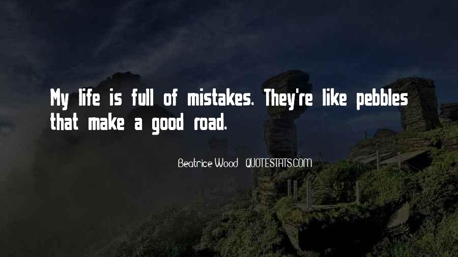 Quotes On Mistakes Of My Life #88205