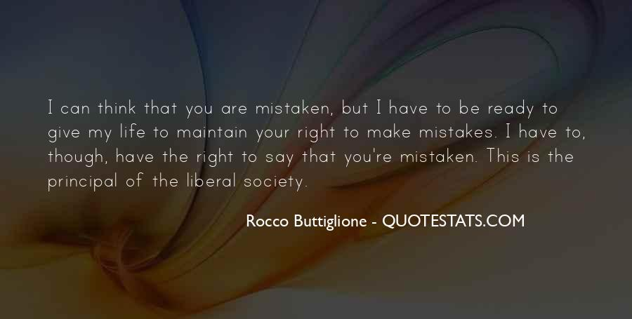 Quotes On Mistakes Of My Life #981795