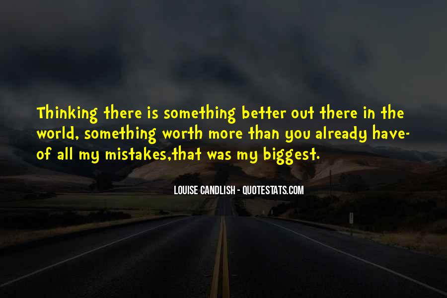 Quotes On Mistakes Of My Life #999868