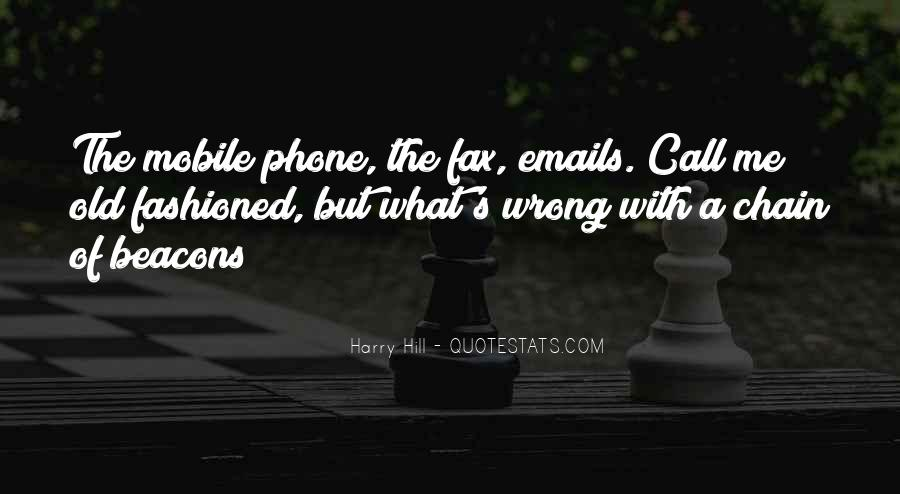 Quotes On Mobile Phone #123571
