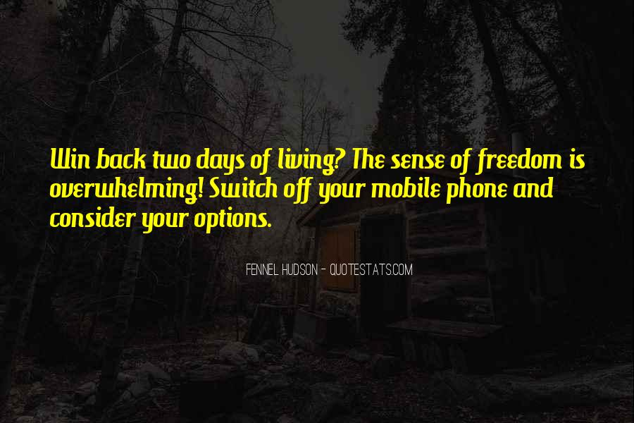 Quotes On Mobile Phone #1455842