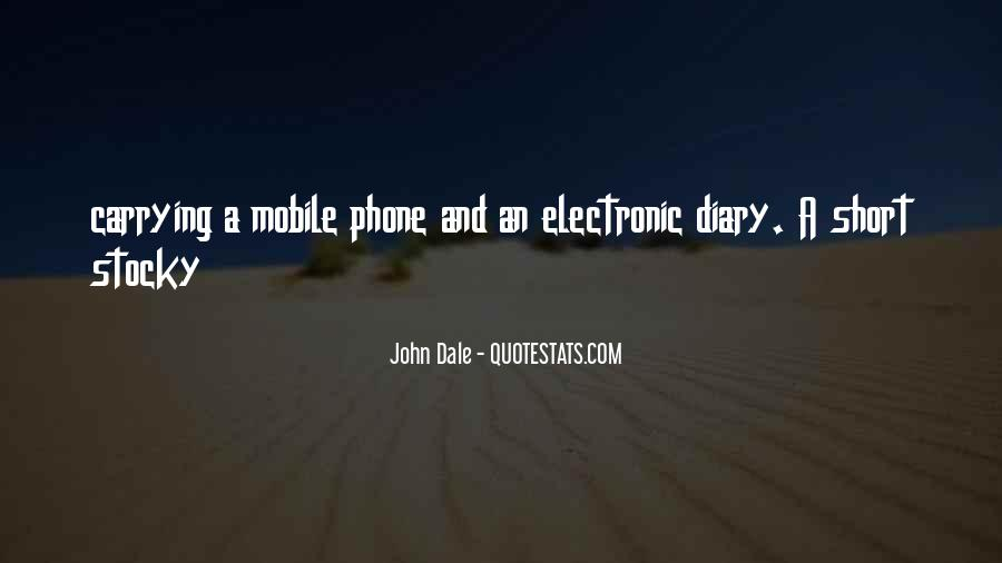 Quotes On Mobile Phone #712253