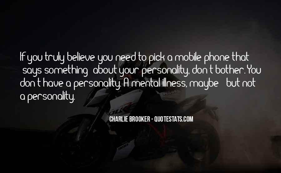 Quotes On Mobile Phone #789573