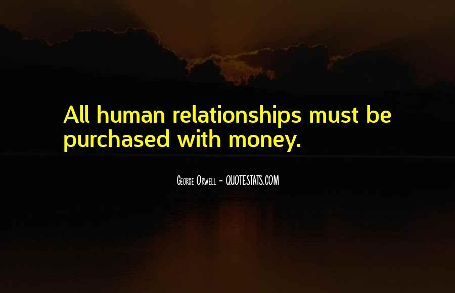 Quotes On Money And Relations #136252