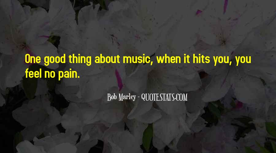 Quotes On Music Bob Marley #1443897