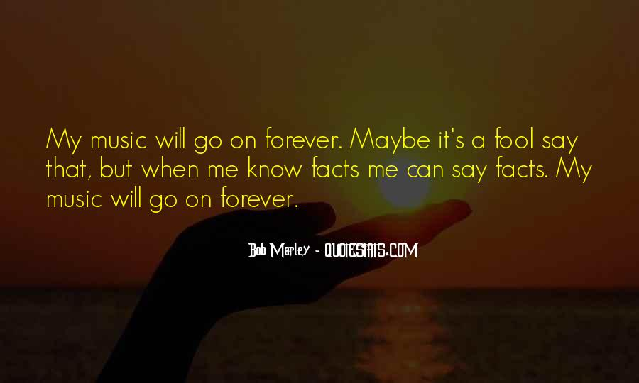 Quotes On Music Bob Marley #1469093