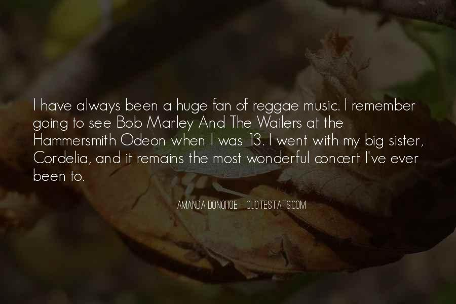 Quotes On Music Bob Marley #1493438