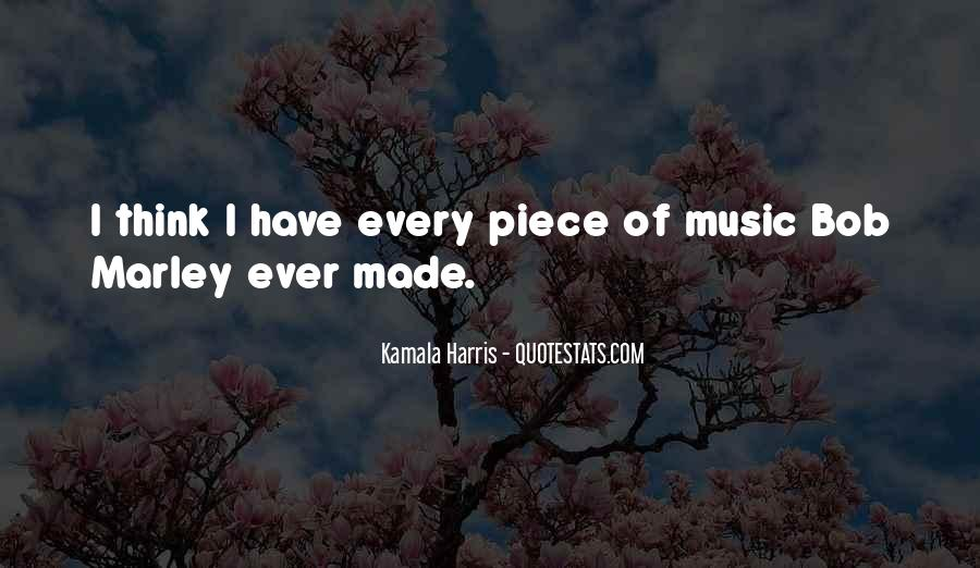 Quotes On Music Bob Marley #1611858