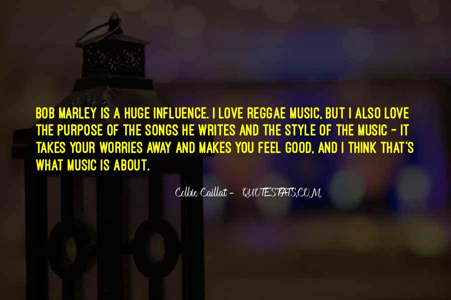 Quotes On Music Bob Marley #1682905