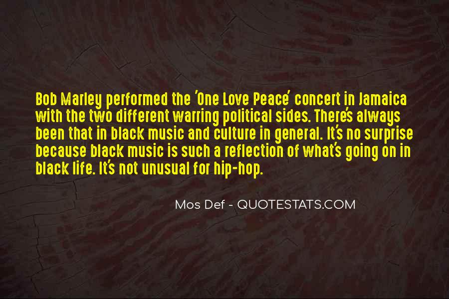 Quotes On Music Bob Marley #23129