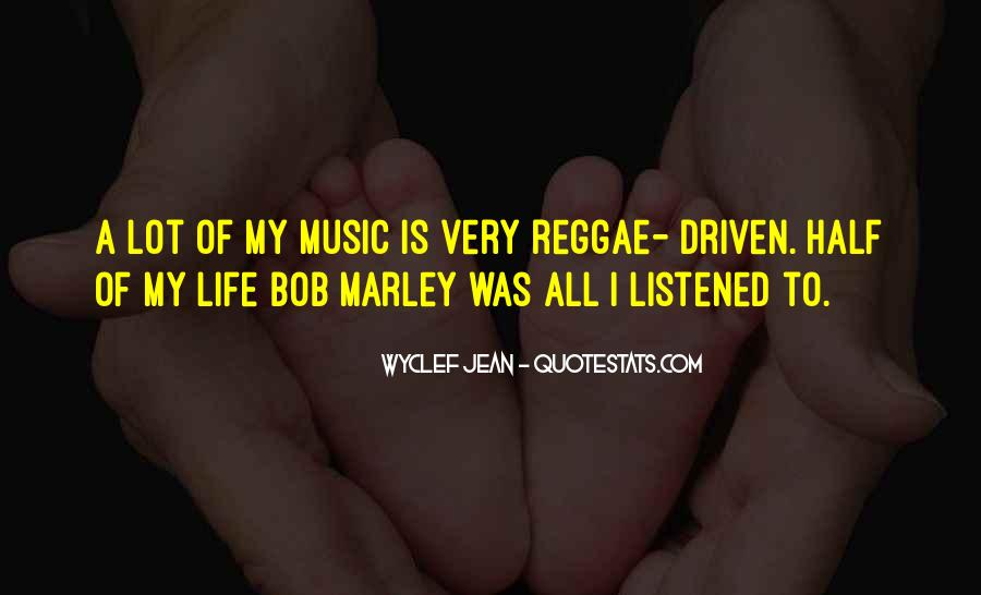 Quotes On Music Bob Marley #281479