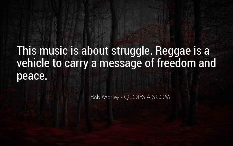 Quotes On Music Bob Marley #322340